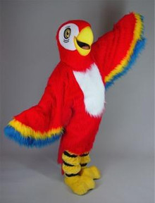 RED MACAW PARROT COSTUME PURCHASE