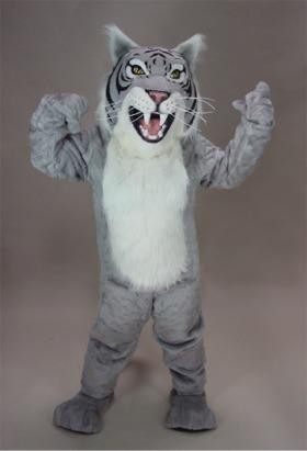 WILDCAT MASCOT COSTUME-GREY-PURCHASE