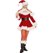 Sexy Miss Santa Suit Deluxe Small