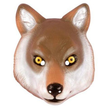 WOLF ANIMAL MASK PLASTIC