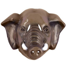 ELEPHANT ANIMAL MASK PLASTIC