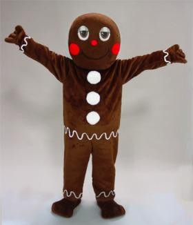 GINGERBREAD MAN MASCOT PURCHASE