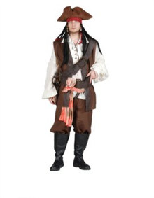 Pirate First Mate Costume Deluxe Adult