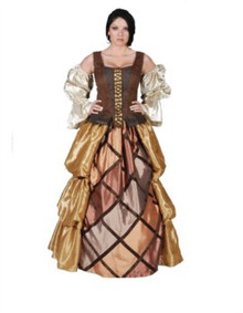 Pirate Lady Costume  Deluxe Adult