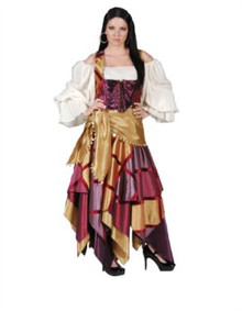 Gypsy Woman Deluxe Adult Costume