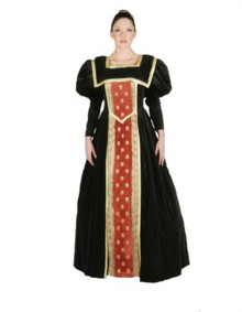 Queen 16th Century Costume Deluxe Adult