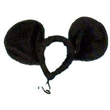 Mouse Ears Jumbo Black