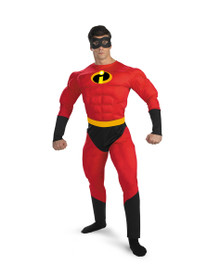 Mr. Incredible Muscle Costume Adult Std