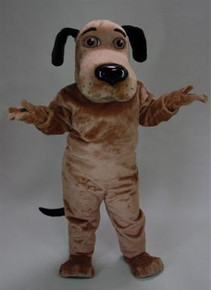 DOG MASCOT COSTUME BROWN PURCHASE
