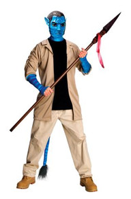 AVATAR JAKE SULLY DELUXE ADULT COSTUME*CLEARANCE*