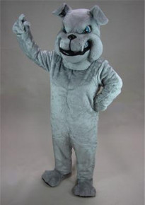 BULLDOG GREY MASCOT COSTUME PURCHASE
