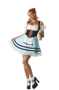 OKTOBERFEST GIRL COSTUME DLX ADULT