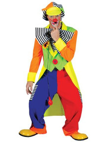 SPANKY STRIPES CLOWN MALE ADULT