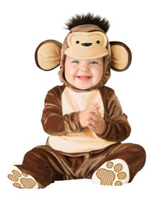 MISCHIEVOUS MONKEY CHILD COSTUME