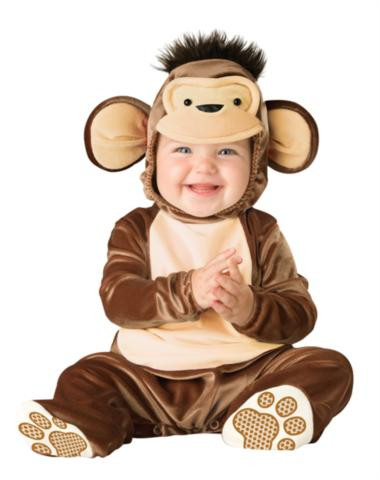 MISCHIEVOUS MONKEY CHILD COSTUME