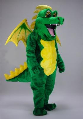 GREEN DRAGON MASCOT PURCHASE