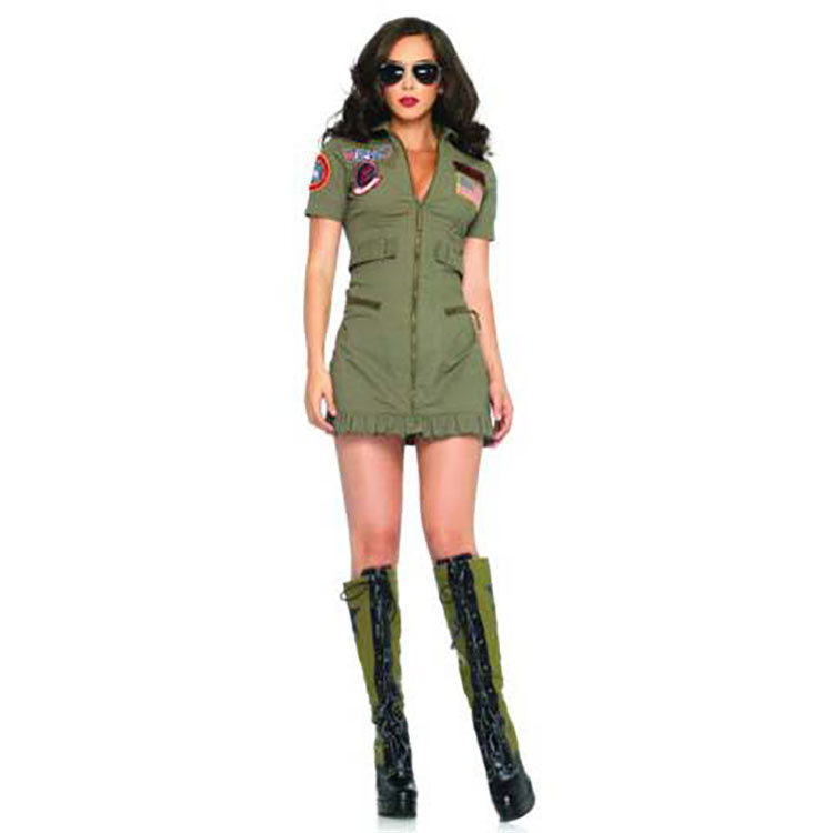 Top Gun Dress Adult Costume Free Shipping