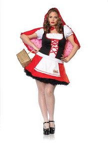 RED RIDING HOOD COSTUMES PLUS SIZE