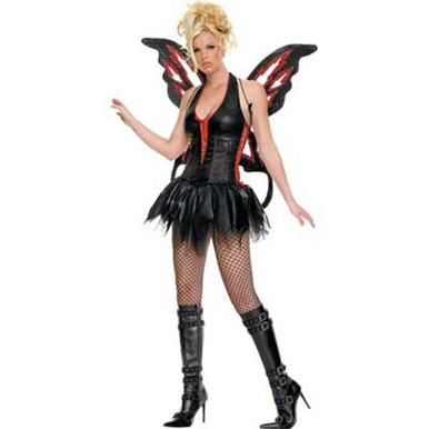 ... Fairy Gothic Adult Costume. Image 1  sc 1 st  Fantasy Costumes & Gothic Fairy Adult Costume | Free Shipping