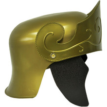 Roman Helmet W/ No Crest Gold