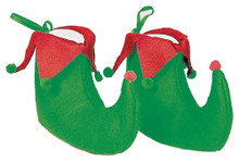 Elf Shoes Green/Red