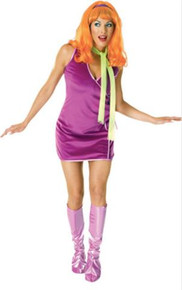 DAPHNE SCOOBY DOO COSTUME ADULT STD