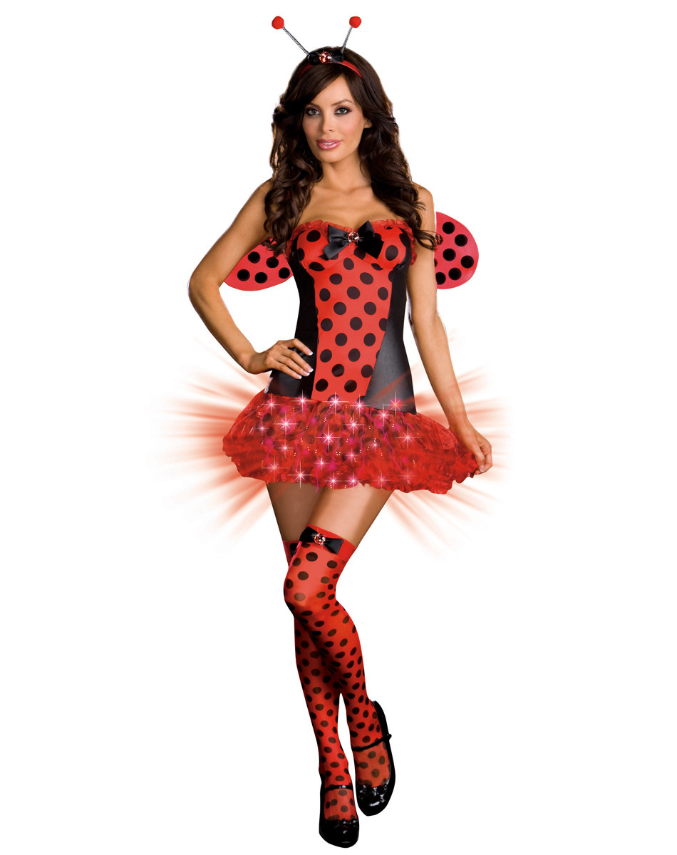 9a95cf935 Light Me Up Ladybug Sexy Adult Costume | Free Shipping