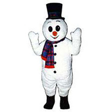 Deluxe Snowman Mascot Costume (Purchase)