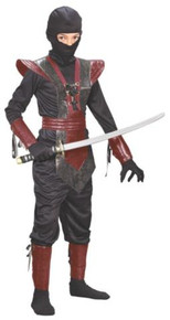 NINJA FIGHTER CHILD COSTUME SML 4-6
