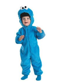 COOKIE MONSTER DELUXE CHILD COSTUME