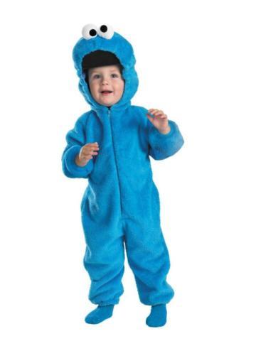 COOKIE MONSTER DELUXE CHILD COSTUME