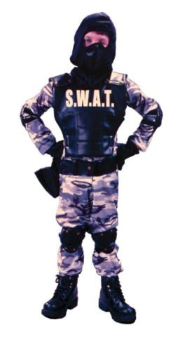 SWAT COSTUME CHILD