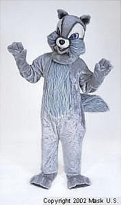SQUIRREL MASCOT COSTUME GREY PURCHASE