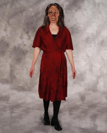 ZOMBIE DRESS ADULT STD