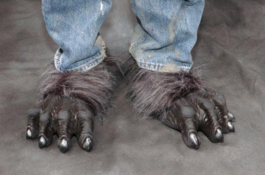 KILLER WOLF FEET LATEX