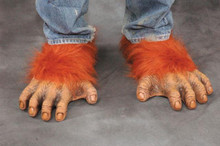 ORANGUTAN FEET LATEX