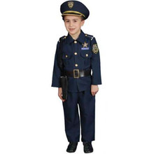 Policeman Costume Child