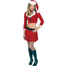 Santa Miss Sexy Costume Adult
