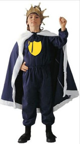 KING WITH CREST CHILD COSTUME
