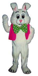Neon Bunny Mascot Costume (Purchase/Rental)