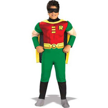 Robin Teen Titans Deluxe Child Costume