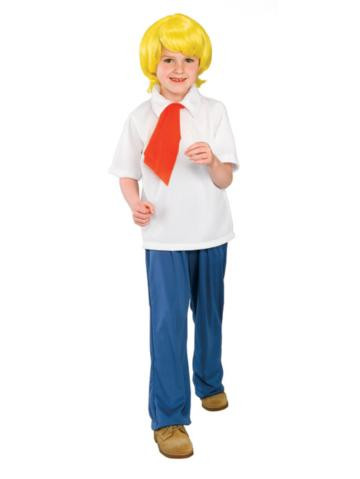 FRED SCOOBY DOO CHILD COSTUME*CLEARANCE*