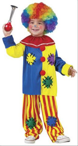 BIG TOP CLOWN COSTUME TODDLER