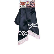 Black Pirate Sash