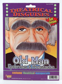 MUSTACHE & EYEBROWS OLD MAN