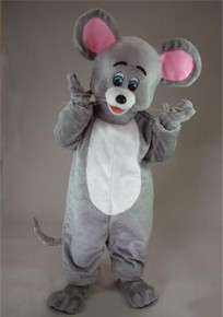 MOUSE MASCOT COSTUME PURCHASE-GREY