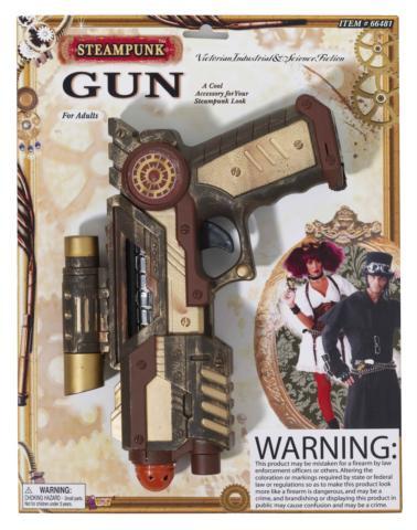 STEAMPUNK GUN PLASTIC