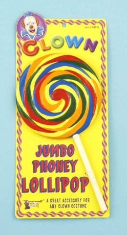 CLOWN LOLLIPOP JUMBO