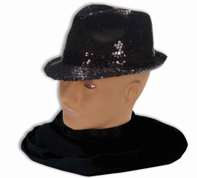 SEQUINED FEDORA HAT
