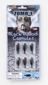 ZOMBIE BLACK BLOOD CAPSULES